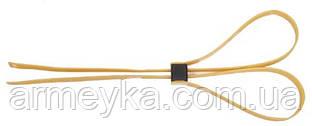 Наручники пластиковые 10 штук,  550x12,8mm, желтые