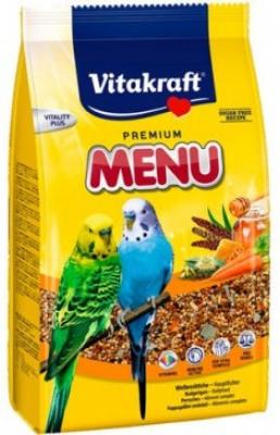 Vitakraft Корм для попугаев Витакрафт Меню 1 кг