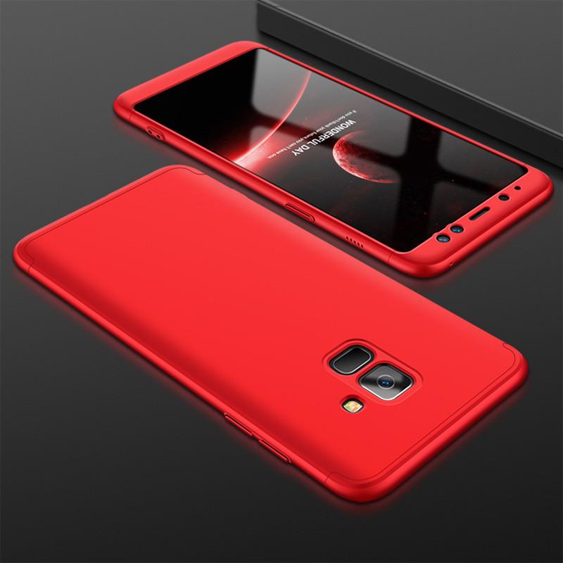 Чехол GKK для Samsung J6 2018 / J600 Красный