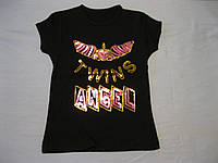 Детская футболка для девочек Ангел 4-7 Турция