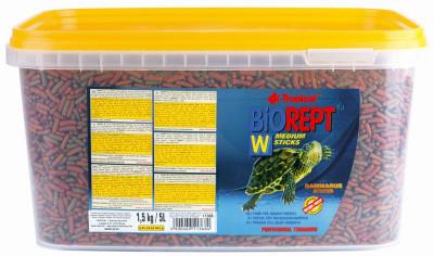 Tropical Biorept Гранульований корм для черепах Тропікал W (палички) 5 л х 1,5 кг