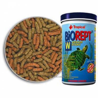 Tropical Biorept Гранулированный корм для черепах Тропикал W (палочки) 1 л х 300 гр, фото 2
