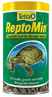 Tetra ReptoMin Тетра Рептомин Корм для водных черепах (палочки) 100 мл, фото 2