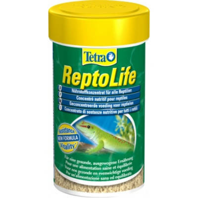 Tetra Fauna ReptoLife Основной корм для рептилий Тетра Рептолайф 100 мл, фото 2