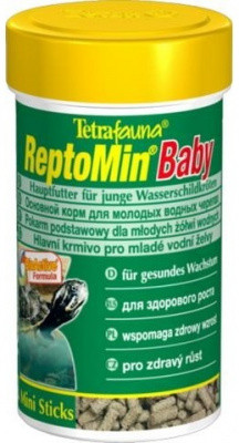 Корм Tetra ReptoMin Baby для молодых черепах (мини гранулы) 100 мл