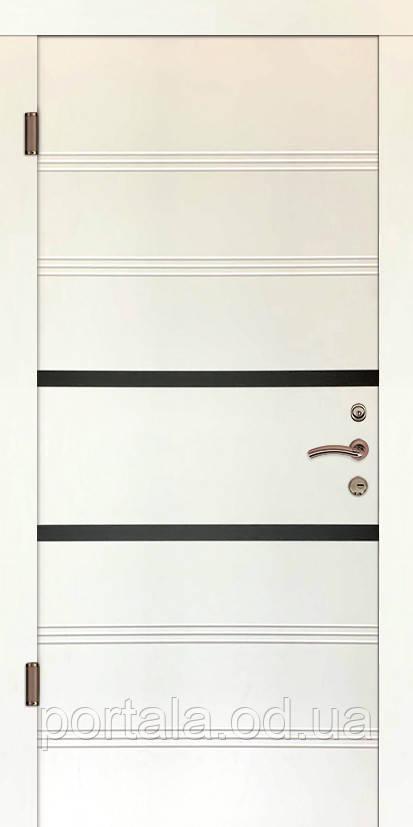 """Входная дверь """"Портала"""" серия Трио ― модель Глазго 1 (Три контура)"""