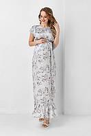 Платье в пол для беременных и кормящих 1937 0001, фото 1