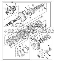 Сцепление, коробка передач, PS760 F3-6-1, фото 1