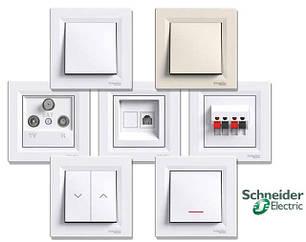 Розетки, выключатели, рамки Schneider Electric