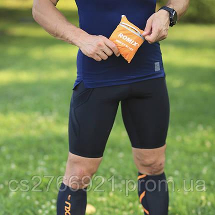 Складной портативный рюкзак ROMIX RH30OR оранжевый, фото 2