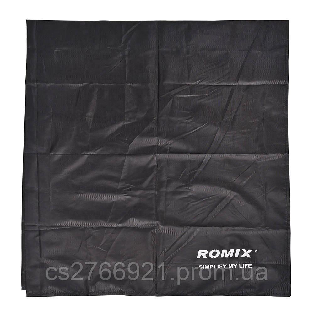 Складное портативное влагостойкое покрывало 110*160 ROMIX RH32-М B черный