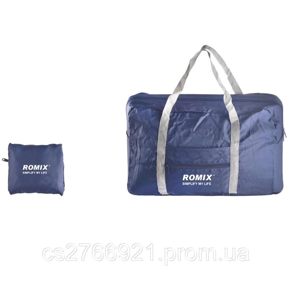 Складная дорожная сумка ROMIX RH43DBL тёмно-синий