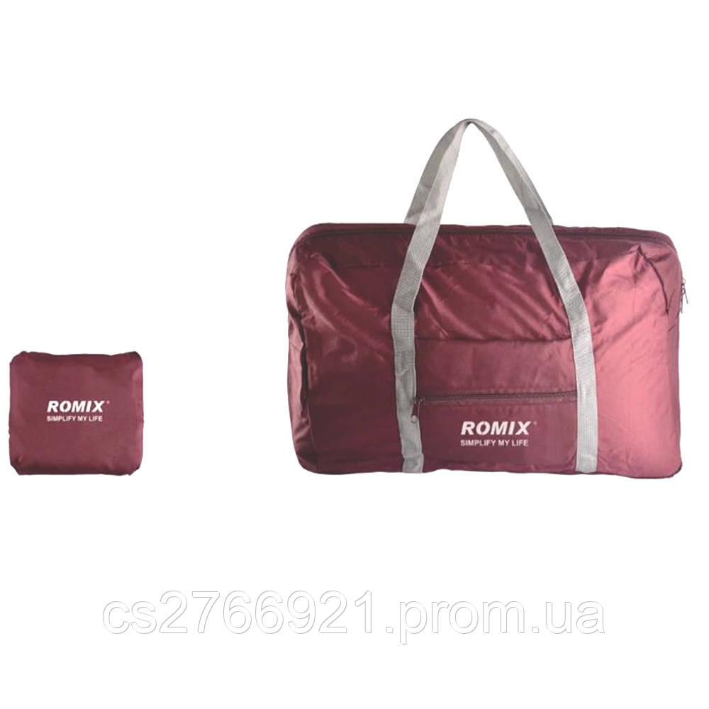 Складная дорожная сумка ROMIX RH43R красный