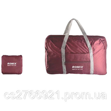 Складная дорожная сумка ROMIX RH43R красный, фото 2