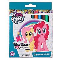 Фломастеры Kite My Little Pony 12 цветов