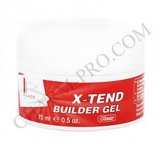 Гель Blaze X-Tend Builder Gel Конструирующий Clear (15 мл)