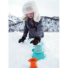 Ігровий набір Будуємо замки з піску і снігу Alto (зелений+синій+помаранчевий) (171393), фото 3
