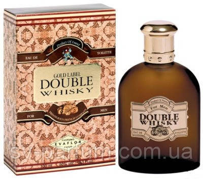 Туалетная вода мужская Double Whisky Gold Label 100ml