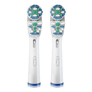 Змінні насадки для електричної зубної щітки Oral-B Dual Clean EB417 2 шт