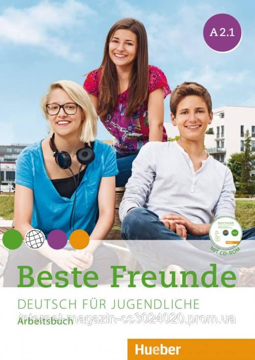 Beste Freunde A2/1, Arbeitsbuch mit CD-ROM ISBN: 9783193610522