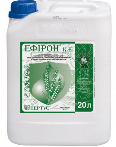Гербицид Эфирон к.е. (2,4 Д Актив) Нертус - 20 л