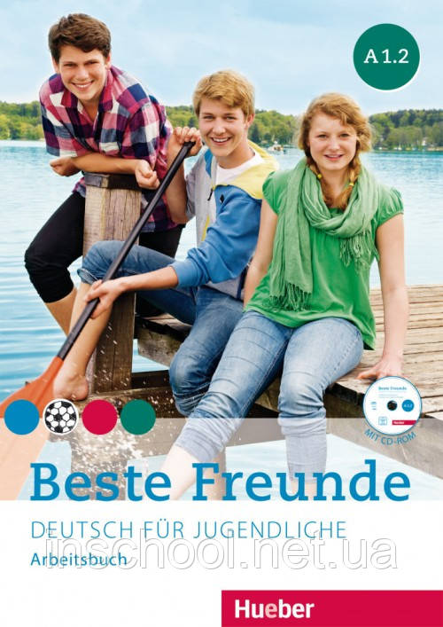 Beste Freunde A1/2, Arbeitsbuch mit CD-ROM ISBN: 9783195610513