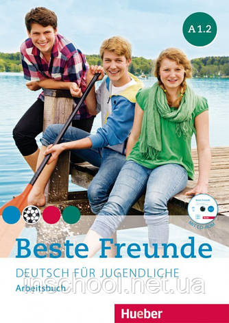 Beste Freunde A1/2, Arbeitsbuch mit CD-ROM ISBN: 9783195610513, фото 2