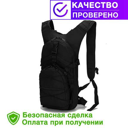Тактический (городской) рюкзак Tactic Oxford 600D с системой M.O.L.L.E black (ta10-black), фото 2