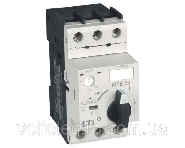 Автоматичний вимикач для захисту двигунів MPE 25-0.25 0,06 kW