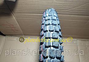 Покрышки на мопед 2.50-17 шипованная с камерой, фото 2