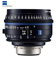 Объектив ZEISS CP.3 25mm T2.1 Compact Prime Lens (Nikon F Mount, Feet) (2181-405)