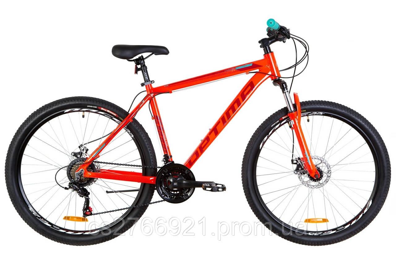 "29"" Optimabikes MOTION DD 2019 (оранжевый )"