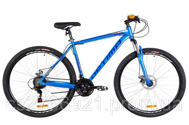 "29"" Optimabikes MOTION DD 2019 (сине-оранжевый ) , фото 2"
