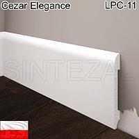 Плинтус из дюрополимера Cezar Elegance LPC-11, H=78 мм.