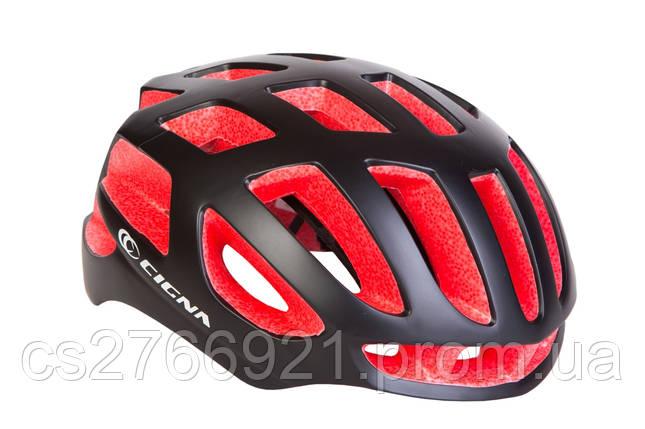 Шлем велосипедный СIGNA TT-4 L (58-61см) (чёрно-красный) , фото 2