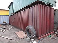 Морской контейнер 40 футов (тонн)