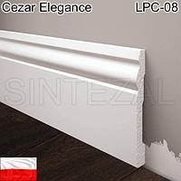 Широкий плинтус для пола Cezar Elegance, H=94 мм., фото 1
