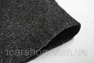 Ковролін Lanos Темно-сірий / Ширина 1,7 м