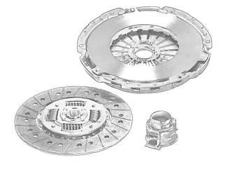 Сцепление в сборе 267mm K2011 Iveco Daily 35-10, 35C, 35S, фото 2