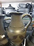 Молочник керамічний гончарний 450мл, фото 3