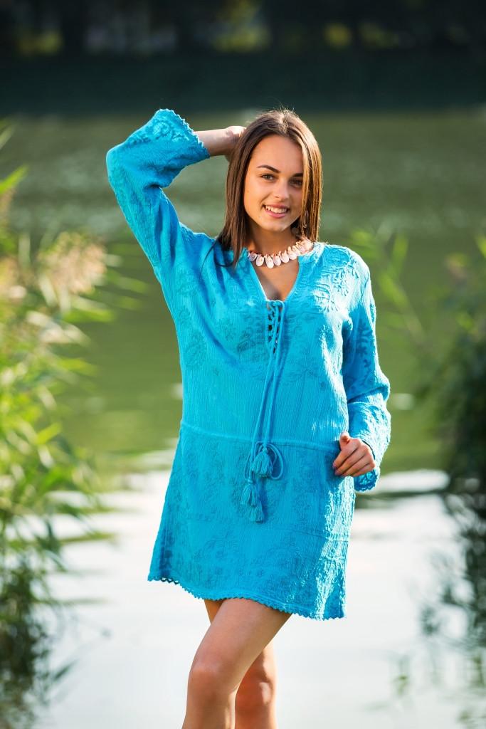 Красивое летнее платье Индия 2483