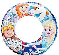 Детский надувной круг Фроузен 56201 NP (36) диаметром 51см, от 3 до 6 лет