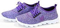 Forest  кроссовки женские фиолетовой 06-42/D