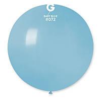 Воздушный шар 31' матовый Gemar G220-72 Голубой (80 см)