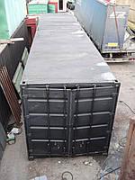 Морской контейнер 40 футов (тонн) с покрытием