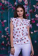 Блузка женская молодежная креп-шифон АНД047, фото 1