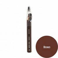 Восковой карандаш для бровей ( коричневый)CC Brow Tinted Wax Fixator