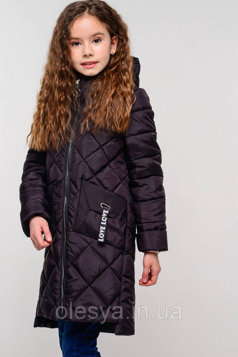 Детская демисезонная куртка на девочку бренда Nui Very Жаклин Размеры 116 122