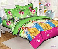 """Комплект постельного белья """"Принцессы Диснея"""", ранфорс, фото 1"""
