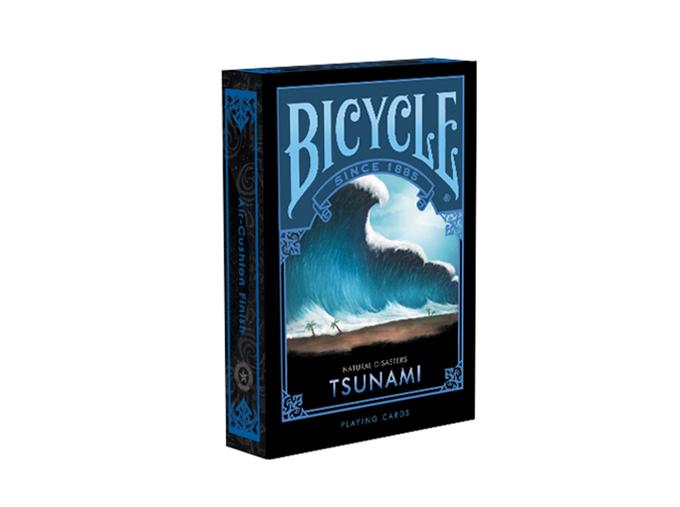 Карты игральные | Bicycle Natural Disaster «Tsunami»